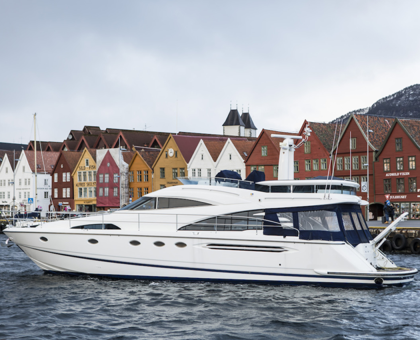 Dinner cruise in a Norwegian fjord