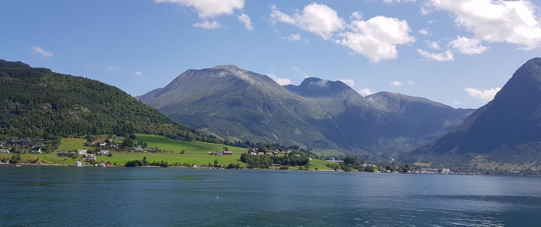 Rosendal in Hardangerfjord