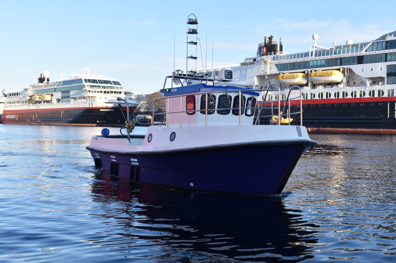 MS Oline Fishing and diving Boat in Bergen