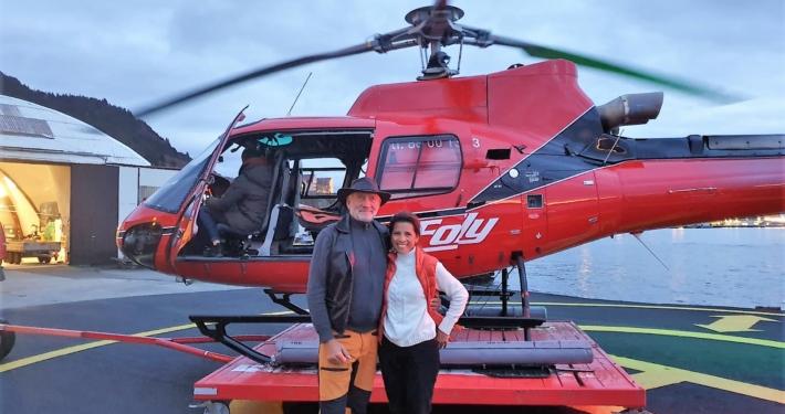 Helicopter Bergen